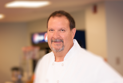 Chef Tony, of Blue Basil NJ Catering